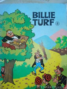 billy turf, later kwam er een bessie turf.. My Childhood Memories, Sweet Memories, Film Books, My Books, Good Old Times, Vintage Children's Books, My Memory, Old Toys, Comic Covers