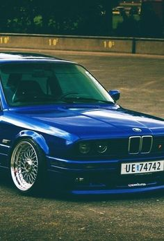 BMW E30 on BBS...