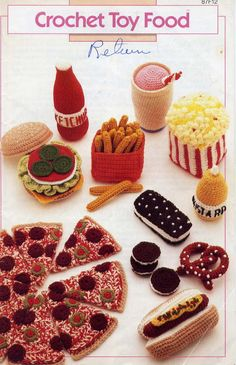 AA Crochet Toy Food