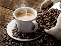 Coffee and coffee beans!