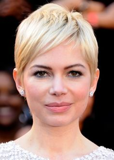 Michelle Williams..love the long, wispy bangs