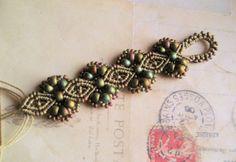 Knot Just Macrame by Sherri Stokey: New Micro Macrame Designs in Khaki Iris