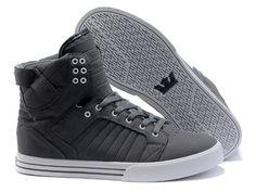 Supra Skytop Mens Shoes Grey