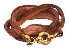 Loam Links Convertible Silk Ribbon Necklace/Bracelet
