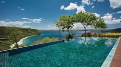 Peninsula Papagayo, Costa Rica - You know, I think I could do social media from here via WiFi and be just fine.