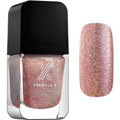 Formula X Divine Stardust - Nail Polish Effect ($13) ❤ liked on Polyvore featuring beauty products, nail care, nail polish and formula x nail polish