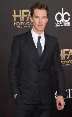 Benedict Cumberbatch, Hollywood Film Awards 2014. #HFA