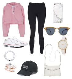 """Basic fall outfit"" by paigey16 on Polyvore featuring Sweaty Betty, Converse, russell+hazel, Lokai, Bueno and SO"