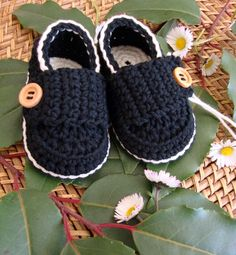 Baby boy moccasins for $15.00 and many more colors to choose from!  Girl versions too!  Super cute!