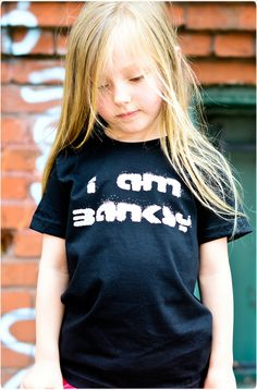 I Am Banksy Tee | Hatch For Kids