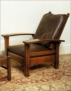 Bow Arm Morris  Chair. Wow their quality work just doesn't stop...  So much warmth in that finish.