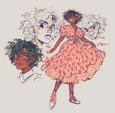 Cute Art Styles, Cartoon Art Styles, Black Girl Art, Art Girl, Ac New Leaf, Arte Sketchbook, Wow Art, Art Reference Poses, Character Drawing