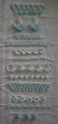 cool stitches and beads