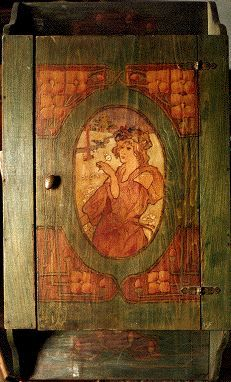 Antique Pyrography