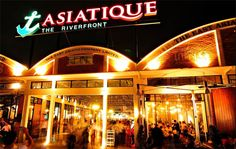 One of the best place to hangout at night in bangkok - Asiatique The Riverfront