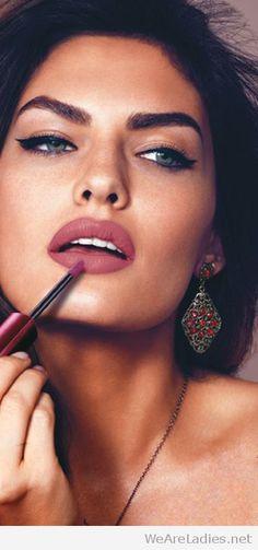 Amazing berry lips inspire