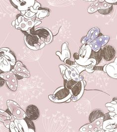 Disney Minnie Dandy Dreams Fleece Fabric