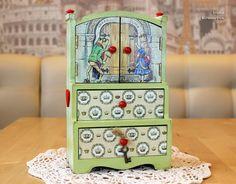 ... Decoupage Kommode auf Pinterest  Kommoden, Decoupage Möbel und