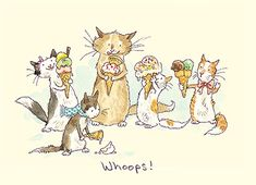Anita Jeram Archives - Two Bad Mice Art And Illustration, Anita Jeram, Gatos Cats, Whimsical Art, Penny Black, Nursery Art, Cat Art, Cute Drawings, Painting & Drawing