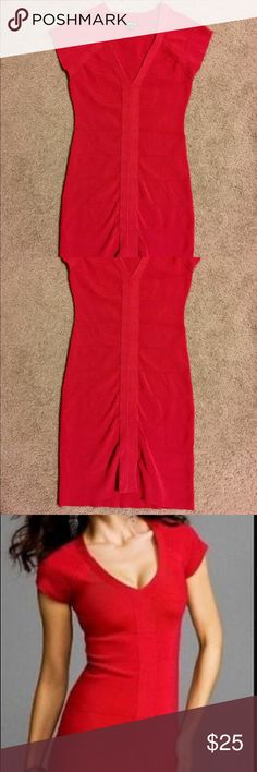 Express Red Bandage Dress Size S This listing is for an Express red bandage dress in SMALL that I paid retail for. I have only worn this dress ONCE. It is also available and listed in a small BLACK. This is a true bandage dress, made out of the same material that the Bebe bandage dresses are made out of. This dress is a show stopper, you'll definitely have heads turning.  I've seen this same dress in a small listed for $78 dollars in another listing. Let me know if you have any other…