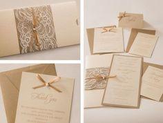 Convite de casamento faça você mesma Foto: Pinterest