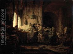 The Parable of the Laborers in the Vineyard by Rembrandt Van Rijn