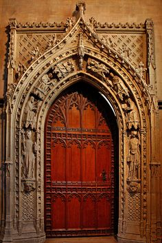 gothic doorway & Gothic Door photo taken by Ryan Cotterelle Church of St. Mary ... Pezcame.Com