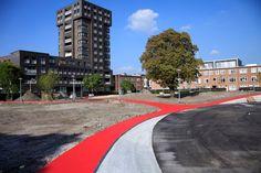 #Tkmstbeeld 7: De rode paden zijn niet te missen. Wat een mooie kleur!