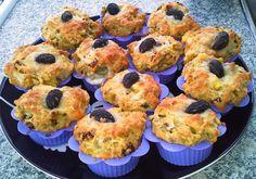 Huvilaelämää ja mökkiruokaa: Suolaiset muffinit italialaiseen tapaan