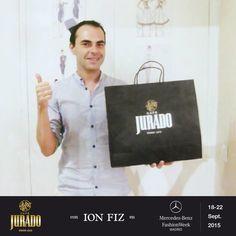 #MBFWM15 estaremos con #IONFIZ en su desfile en la Mercedes-Benz Fashion Week Madrid ¡Un placer acompañar a este gran #diseñador!