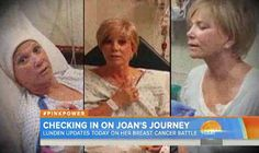 Joan Lunden gives Matt Lauer an emotional update on her breast ...