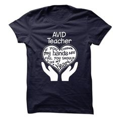 Proud Be An AVID Teacher T Shirts, Hoodie. Shopping Online Now ==► https://www.sunfrog.com/No-Category/Proud-Be-An-AVID-Teacher-62936469-Guys.html?41382