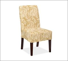 Napa Chair Slipcovers Pottery Barn