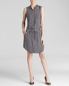 Why Gingham Is This Season's Go-To Print - Spring 2015 - Splendid Gingham Dress