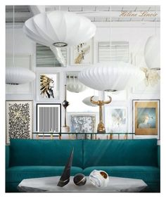 """""""INT.600"""" by helenelenoir ❤ liked on Polyvore featuring interior, interiors, interior design, home, home decor, interior decorating, VILA, Eleanor Stuart, Arredoluce and Ethan Allen"""