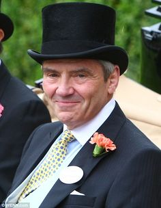 Michael Middleton, the Duchess of Cambridge's father.