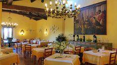 Restaurant at Villa le Barone Tuscany