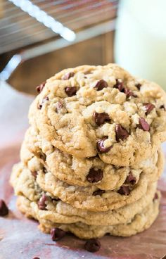 Low FODMAP and Gluten Free Recipe - Chocolate Chip Cookie