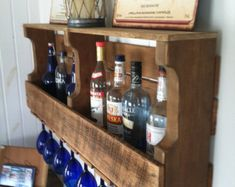 The Great Lakes Wine Rack Reclaimed Wood by GreatLakesReclaimed