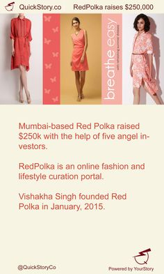 In May 2015, Red Polka raised $250k with the help of five angel investors.