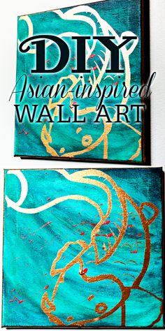 DIY Asian-inspired Art Tutorial