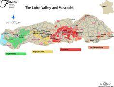 loire wine map wine folly - Google Search