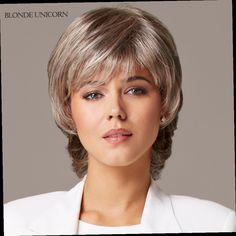 49.00$  Buy here - http://alivdd.worldwells.pw/go.php?t=32685362623 - Blonde Unicorn Wigs Women's Wig Short Human Hair Wigs For Women Fluffy Human Hair Short Straight Wig Global Free Shipping