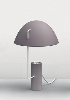 Lámpara de mesa / moderna / de interior / de aluminio MIA by Paola Monaco di Arianello Danese