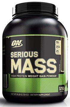 Optimum Nutrition Serious Mass Gainer Protein Powder Chocolate 6 Pound