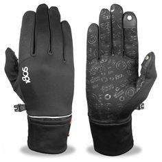 Sleek, warm athletic gloves for the touchscreen user.