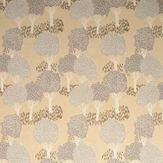 Topiary Tree Duckegg linen Curtain//Craft upholsteryFabric