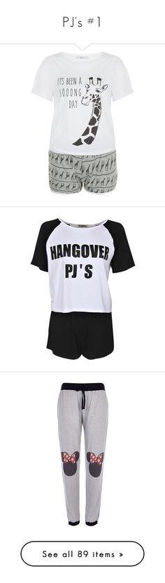 """PJ's #1"" by demontigerlover ❤ liked on Polyvore featuring intimates, sleepwear, pajamas, tops, grey, giraffe pajamas, short sleeve pajama set, giraffe print pajamas, short sleeve pajamas and giraffe pjs"