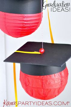 Graduation Party Lanterns! - Kara's Party Ideas - The Place for All Things Party KarasPartyIDeas.com