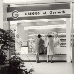 Newcastle upon Tyne the first Greggs shop was opened on Gosforth high Street in 1951 Uk People, Great North, Old Photos, Vintage Photos, Greggs, Cumbria, Past Life, British History, Newcastle